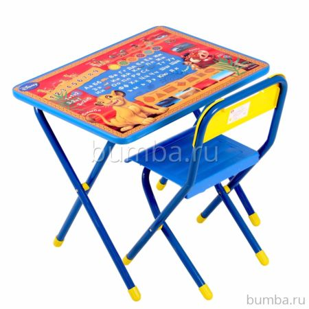 Комплект детской мебели Дэми №1 Король Лев