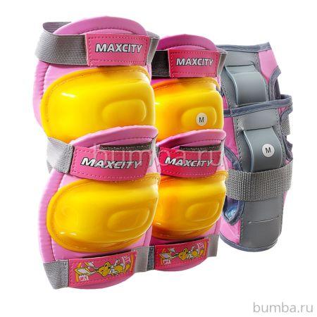 Комплект защиты MaxCity Little Rabbit (розовый)
