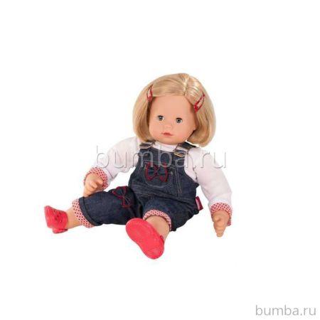 Пупс Gotz Кукла Макси-маффин Блондинка в комбинезоне