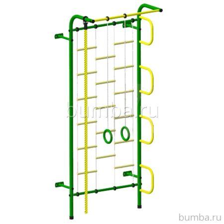 Детский спортивный комплекс Пионер С1Л (желто-зеленый)