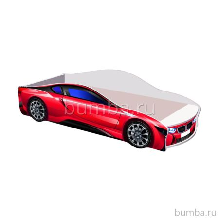 Кровать-машина Кроватка5 БМВ (красная)