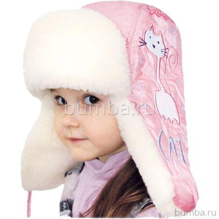 Шапка детская Little People Симба (розовый)