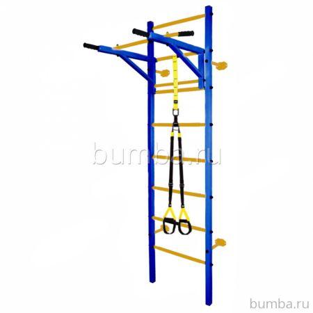 Шведская стенка Midzumi Katashi plus (синий-желтый)