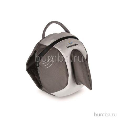Детский рюкзак LittleLife с поводком (акула)