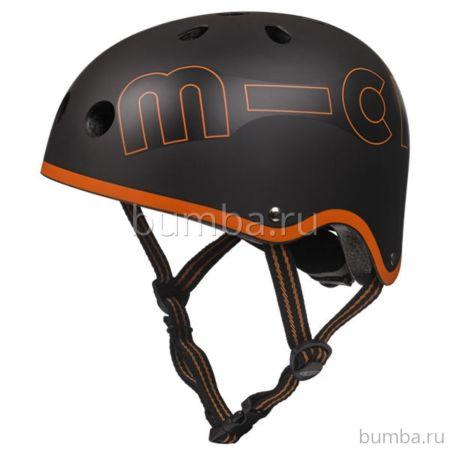 Шлем Micro (черно-оранжевый)