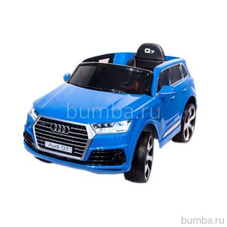 Электромобиль ToyLand Audi Q7 высокая дверь (синяя краска)