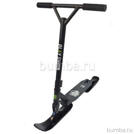 Самокат на лыжах Playshion Extreme Snowscooter (черный)
