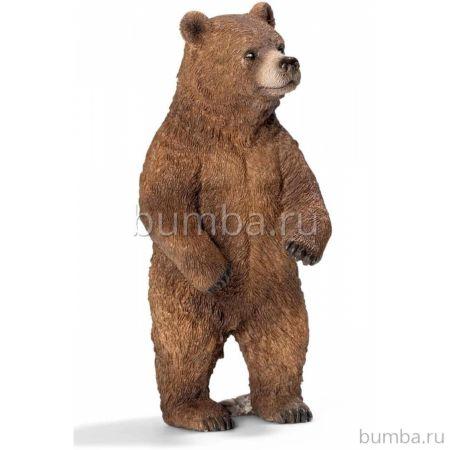 Медведь Гризли самка Schleich