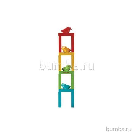 Развивающая игрушка PlanToys Башня с птичками
