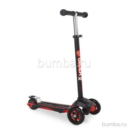 Кикборд Y-Bike Glider Maxi XL Deluxe (красный)