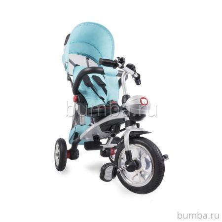 Трехколесный велосипед 2 в 1 Lionelo Tim Plus (Голубой)