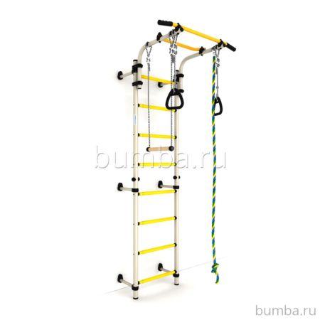 Детский спортивный комплекс Карусель Комета next 1 (бело-желтый)