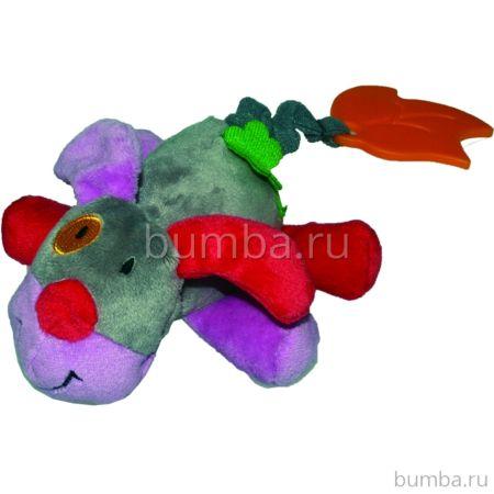 Развивающая игрушка Biba Toys JF948 Бегемот (серый)