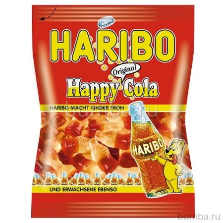 Мармелад Haribo Happy Cola 70 гр