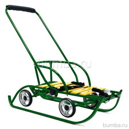 Санимобиль на колесах Hubster Премиум (зеленый)