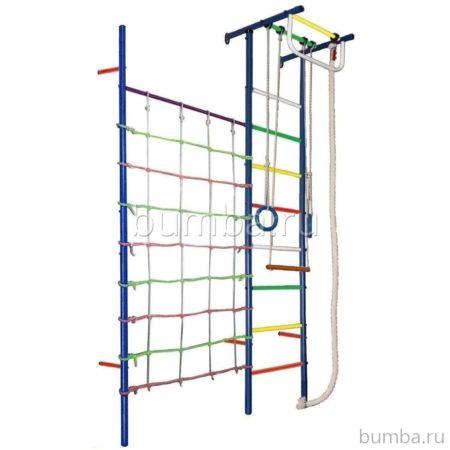 Детский спортивный комплекс Вертикаль Юнга 4 (мягкие ступени)