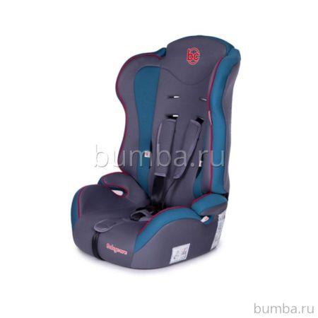 Автокресло Baby Care Upiter (серо-голубое)