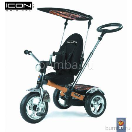 """Трехколесный велосипед RT Icon 3 Original с ПВХ-колесами 11"""" и 9"""" (Cream)"""