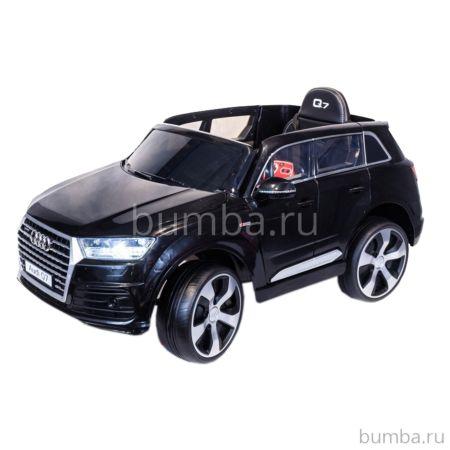 Электромобиль ToyLand Audi Q7 высокая дверь (черный)