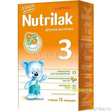 Сухая молочная смесь Nutrilak 3 (с 12 мес.) 350 г