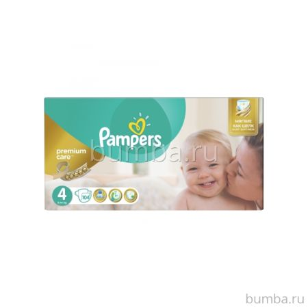 Подгузники Pampers Premium Care Maxi (8-14 кг) 104 шт