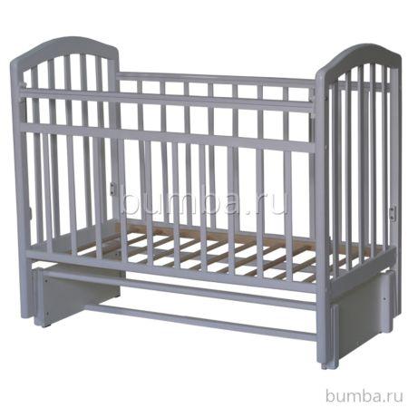 Кроватка детская Антел Алита 5 (продольный маятник) слоновая кость