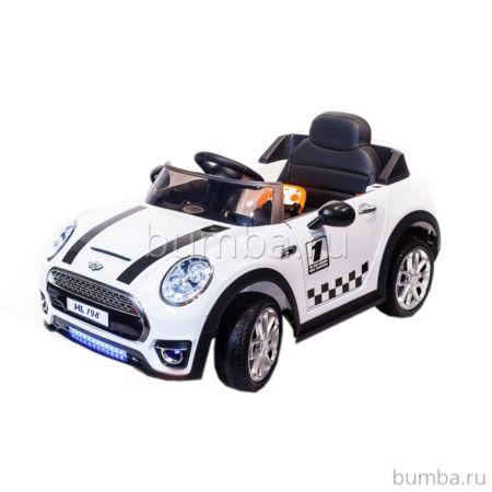 Электромобиль ToyLand Mini Cooper HL198 (белый)