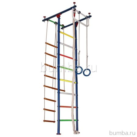 Детский спортивный комплекс Вертикаль Юнга 2 (мягкие ступени)