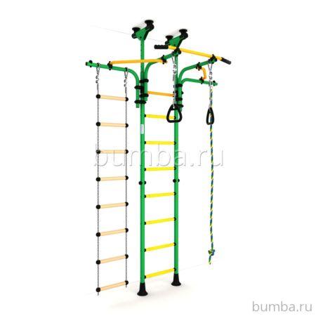 Детский спортивный комплекс Карусель R5 (зелено-желтый)