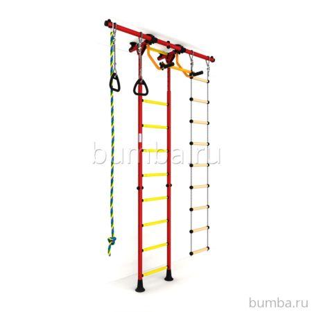 Детский спортивный комплекс Карусель R55 (красно-желтый)