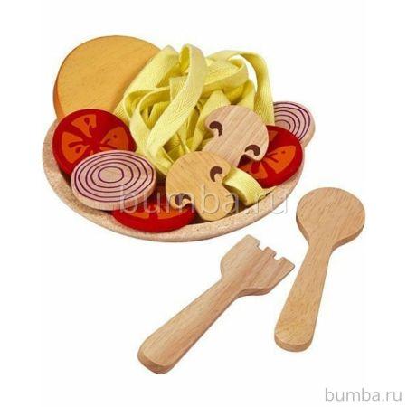 Деревянный набор PlanToys Спагетти с овощами
