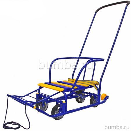 Санимобиль RT Snow Galaxy Auto (сине-желтый)
