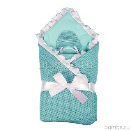 Комплект на выписку демисезонный Alis Ольга (8 предметов) (голубой)