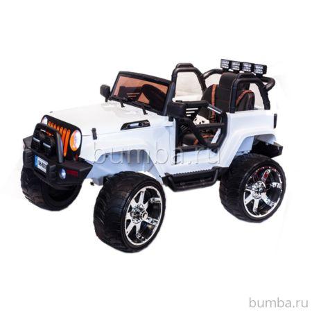 Электромобиль ToyLand Jeep SH 888 (белый)