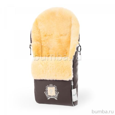 Меховой конверт для коляски Esspero Queenly ST Chocco