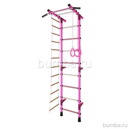 Детский спортивный комплекс Маугли 03 (розовый)