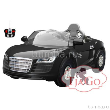 Электромобиль TjaGo R8 100KD надув с пультом управления (черный)