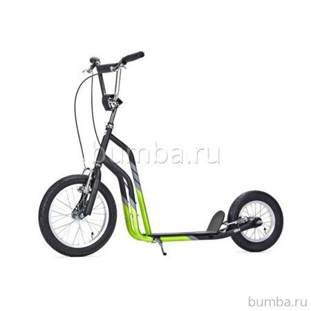 Самокат Yedoo City (black green)
