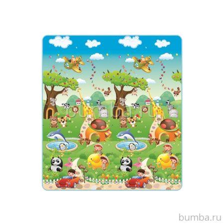 Развивающий коврик Mambobaby Прогулка по зоопарку (М)