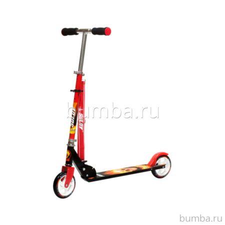 Самокат Sulov 145 Rider (черно-красный)