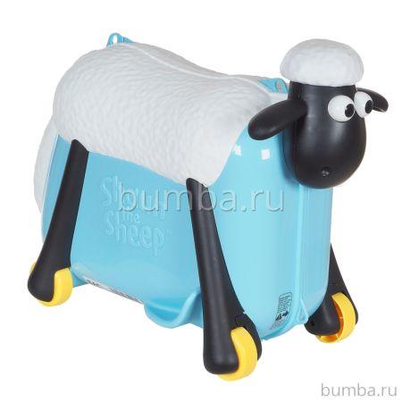 Каталка-чемодан Saipo Овечка (голубая)