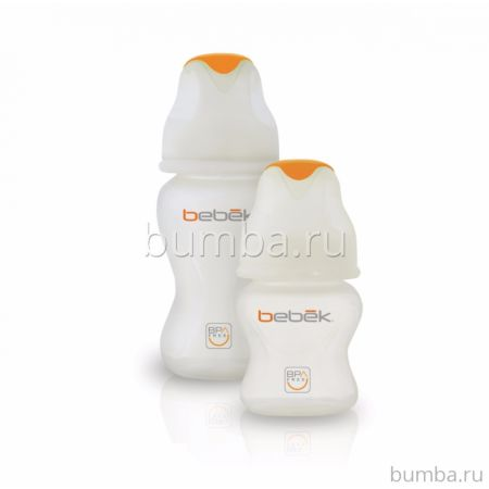 Бутылочка Bebek силиконовая 150 мл