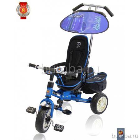 Трехколесный велосипед Lexus trike original RT Next Deluxe c высокой спинкой (Blue Mat)