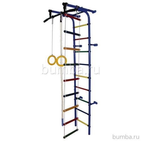 Детский спортивный комплекс Формула Здоровья Забияка-1А Плюс (синий)