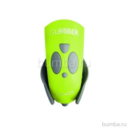 Звонок-фонарик Globber Hornit для самокатов Mini (Lime Green)