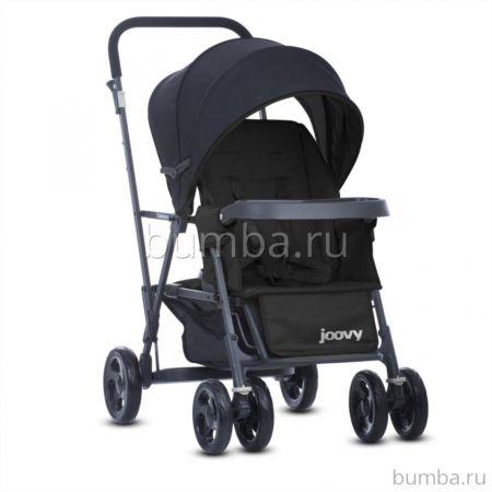 Коляска для двух детей Joovy Caboose (черный)