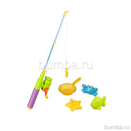 Набор игрушек Happy Baby Little Fishman