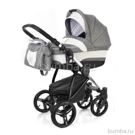 Коляска 2 в 1 Esspero Newborn Lux Chrome Denim