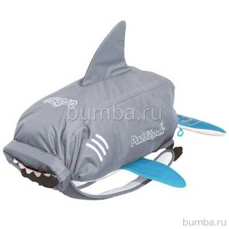 Универсальный рюкзак Trunki PaddlePak Акула (Серый)