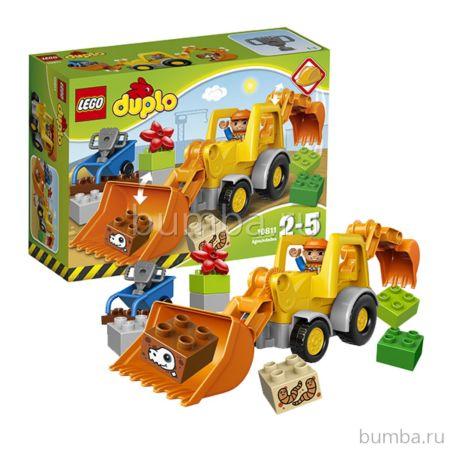 Конструктор Lego Duplo 10811 Экскаватор-погрузчик